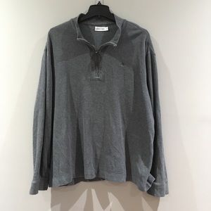 Calvin Klein | Ribbed Pullover Sweater Gray  XXL